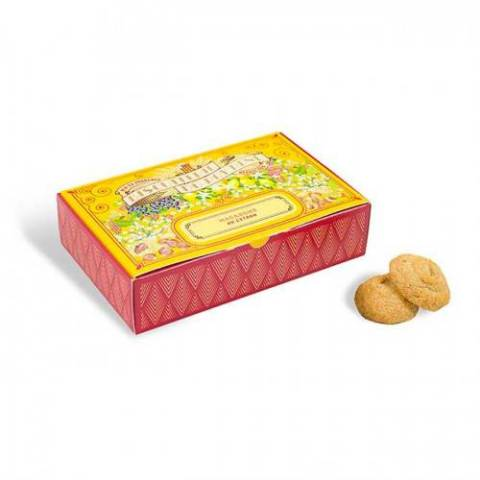 Macarons aux écorces de citron confites