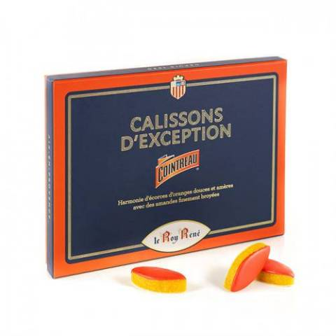 Calissons au Cointreau